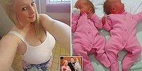 21-летняя мамочка не знала, что беременна, пока не родила двойню, когда пошла ночью в туалет