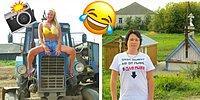 Фотосеты славянских девушек из деревни, не испорченных деньгами: Фэшн-фотографы отдыхают! 😱
