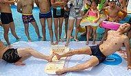 Беспрецедентное соревнование в Китае и Англии: Ножной рестлинг