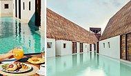 Мексиканская Венеция: необычный отель Punta Caliza, «утопающий» в воде