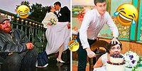 Суперстранные и ржачные свадебные фото, которые могли сделать только в России