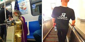 Модный приговор отдыхает, или Очень странные люди в московском метро