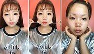 Где мой накладной нос? Азиатки вышли на новый уровень нанесения макияжа