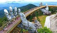 """Только что открывшийся мост во Вьетнаме выглядит как декорации к """"Властелину колец""""!"""