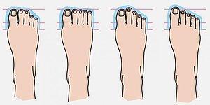 Тест: по форме пальцев на ноге определим, кем были ваши предки
