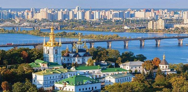 4. Kiev / Ukrayna: 708,6 saat