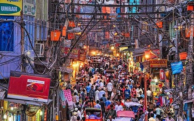 3. Yeni Delhi, Hindistan: 804,2 saat