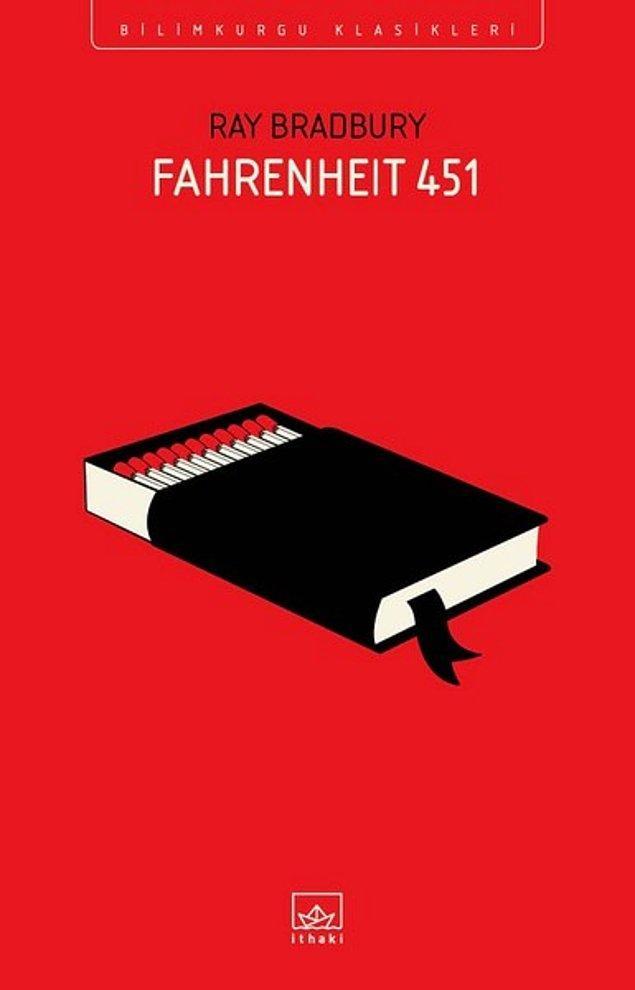 14. Fahrenheit 451 - Ray Bradbury