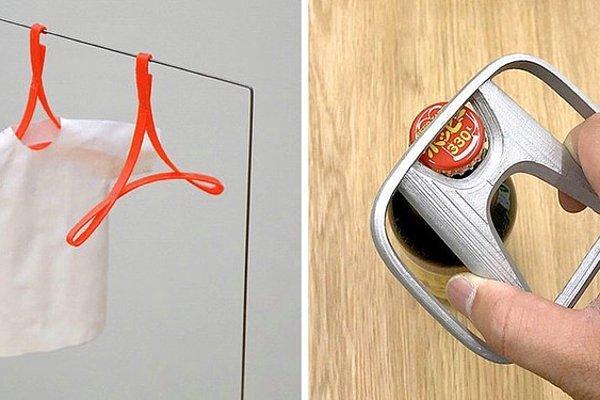 Хонда-открывашка и другие полезные в быту вещи, сделанные из логотипов всемирно известных брендов