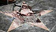 """Знаменитости, чьи звезды на """"Алее славы"""" подверглись нападению вандалов"""