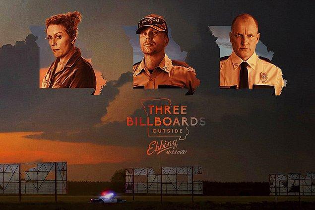 3. Three Billboards Outside Ebbing, Missouri - IMDb puanı: 8.2