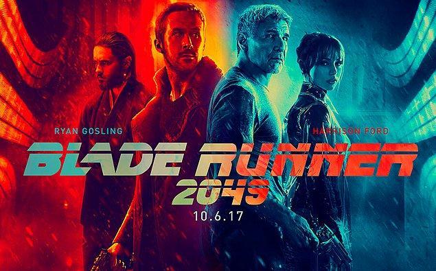 6. Blade Runner (2049) - IMDb puanı: 8.0