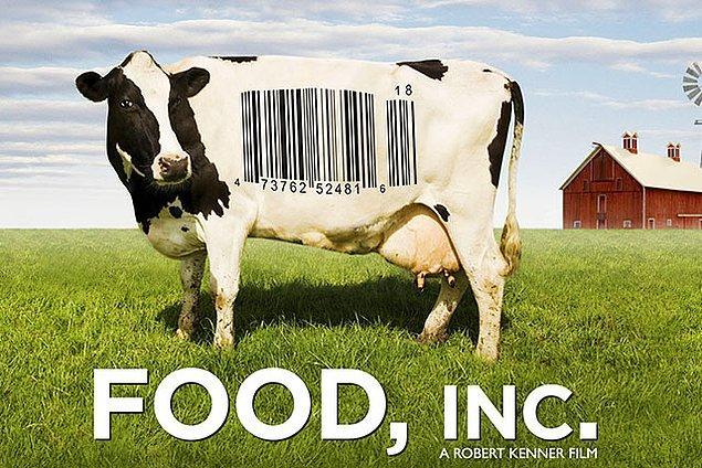 4. İzledikten sonra gidip organik market kapısı yalayacağınız bir belgesel: Food, Inc.