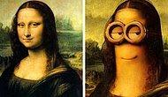 Миньоны на картинах известных художников