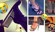 Фото, которые напомнят всем девушкам, что обувь на каблуках - это настоящие проделки дьявола