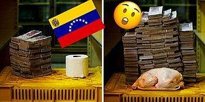 Фото, которые наглядно показывают, сколько стоят товары общего потребления в Венесуэле, страдающей от гиперинфляции