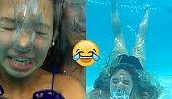 Фотки, доказывающие, что сделать селфи под водой очень сложно!