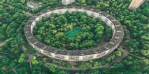 Пончикоподобные здания в Москве. Как их строили и зачем они нужны?