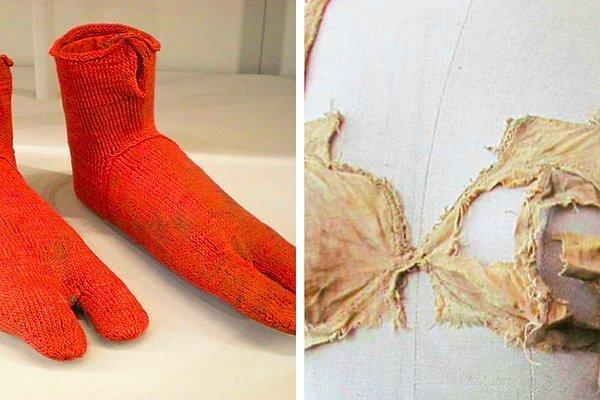 Самые старые носки и другие винтажные вещи, в возраст которых сложно поверить