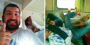 Вагончик тронется... Фото, которые докажут, что путешествовать поездами в России - занятие не для слабонервных