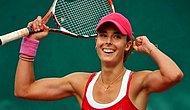 Французская теннисистка сняла футболку на корте и изменила правила игры, взбудоражив общественность