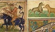 Вот такой бестиарий: Догадайтесь, какое животное изображено на средневековых зоологических справочниках (сложный тест)