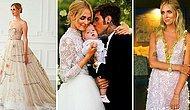 Свершилось! Фэшн-блогер Кьяра Ферраньи вышла замуж за итальянского рэпера, надев во время торжества несколько разных нарядов от Диор и Прада