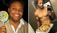 Парень похудел на 80 кг и стал выглядеть, как греческий бог, питаясь при этом бургерами и пиццей