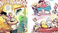Комиксы, которые оценят все, у кого в доме собака и годовалый ребенок