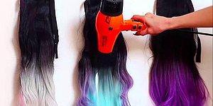 Художник создал парики, которые волшебным образом меняют цвет при высокой температуре