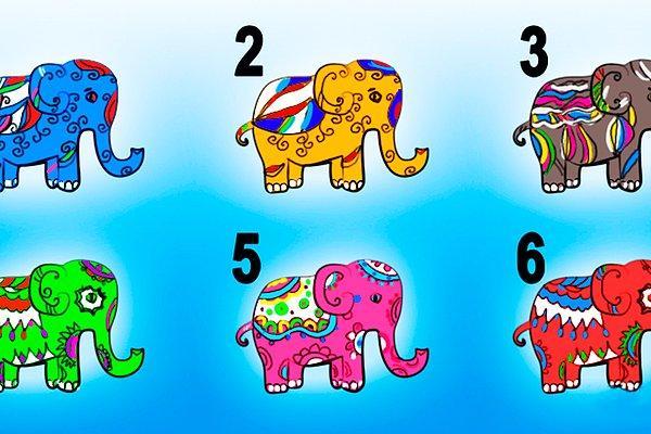 Тест: Выберите одного из слонов, а мы расскажем кое-что о вашей сущности