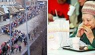 Первый «Макдоналдс» в СССР открылся в 1990 году, и, посмотрев на фото, вы поймете, что это было полное безумие