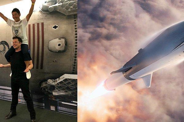 Илон Маск отправит на Луну первого космического туриста – им станет миллиардер из Японии