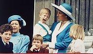 Королевская семья со всех ракурсов: как они выглядели, когда многие из нас только появились на свет