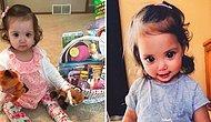 Малышка с большими красивыми глазами, причиной которых стало редкое генетическое отклонение