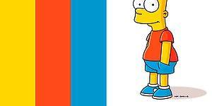 """Тест: Получится ли у вас узнать героев """"Симпсонов"""" по их световой схеме?"""