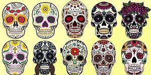 Тест: Выберите череп и узнайте, что вам написано на роду