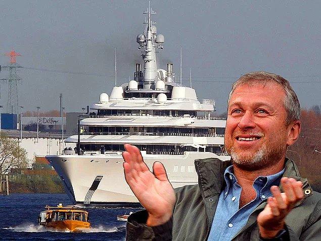Rus milyarder Roman Abramovich yatını lazer sistemiyle kaplattı.