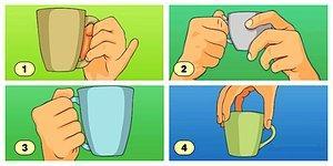 Тест: То, как вы держите кружку, может многое о вас рассказать