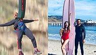Серфинг, парашют и банджи-джампинг: российские и зарубежные звезды, обожающие заниматься экстремальным спортом