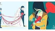Индонезийская художница изобразила в своих работах, какие чувства и эмоции мы испытываем внутри, но никогда не показываем на людях