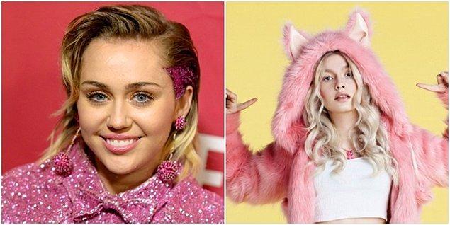 Miley Cyrus tam bir Aleyna Tilki!