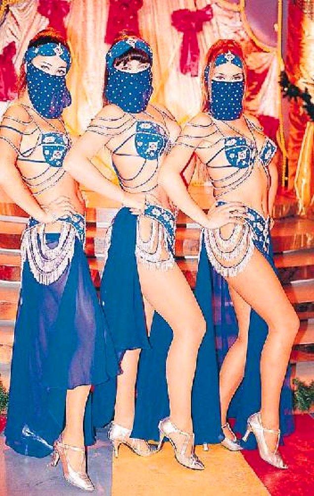 Ülke olarak seyretmeye bayıldığımız bir sürü dansöz varken bir anda bu üç kadın bütün dansözleri solluyor.