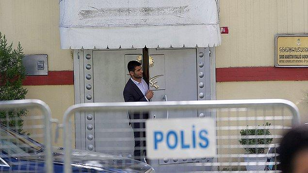 İstanbul Cumhuriyet Başsavcılığı, Kaşıkçı'nın 2 Ekim saat 13.00'te gittiği konsoloslukta alıkonulduğuna dair iddiayla ilgili soruşturma başlattığını duyurmuştu.