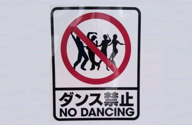 1. Japonya'da gece yarısından sonra dans etmek yasak!