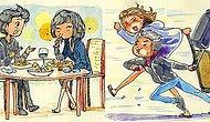 Преодолевайте расстояния! Итальянский художник рассказал о своих чувствах к девушке из Канады в иллюстрациях