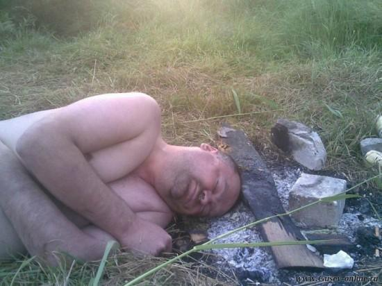 Фото голых бомжих русских
