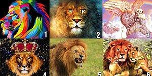 Выберите льва и узнайте, какой мужчина вам нужен