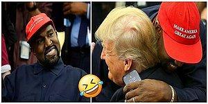 После встречи с Трампом все смеются над Канье Уэстом и его паролем от телефона