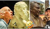 18 Extremely Clever People Who Got It Going With Statues!